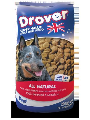 Drover Super Value Dog Food