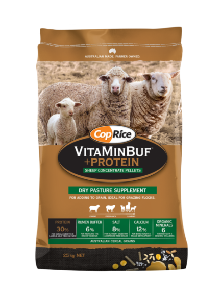 VitaMinBuf + Protein Dry Pasture Supplement